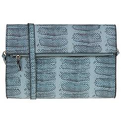 Parfois - Blue cobra set cross bag