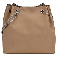 Parfois - Beige summer snake handbag