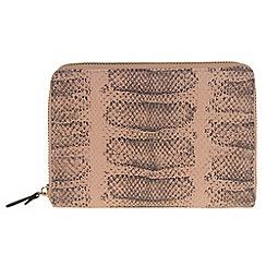 Parfois - Beige 'Cobra' wallet