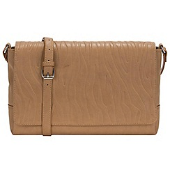 Parfois - Taupe sunset envelope clutch