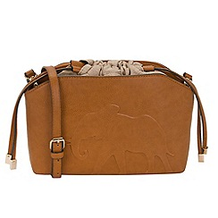 Parfois - Camel masai mara cross bag
