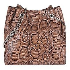 Parfois - Pink 'Summer snake' handbag