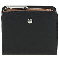 Parfois - Black wallet pvc liso