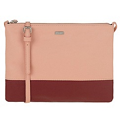 Parfois - Pink 'Bicolor' papaya cross bag