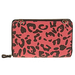 Parfois - Rose all in print wallet