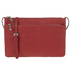 Parfois - Red 'Xis cross bag