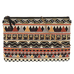 Parfois - Brown 'Indie' clutch