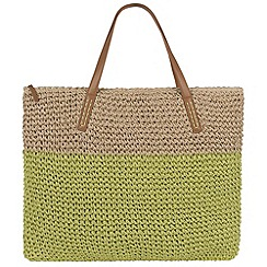 Parfois - Green 'Sunrise' shopper