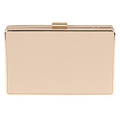 Parfois - Beige Smooth clutch