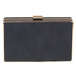 Parfois - Navy Smooth clutch