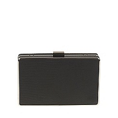 Parfois - Black 'Smooth' clutch bag