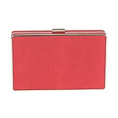 Parfois - Pink 'Smooth' clutch bag