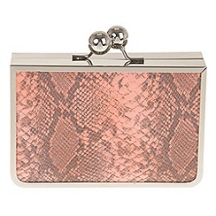 Parfois - Orange 'Granny' clutch