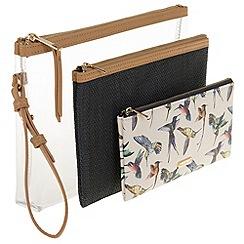 Parfois - Bird set cosmetic purse