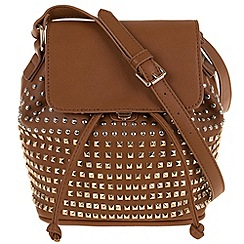Parfois - Golden studs cross bag