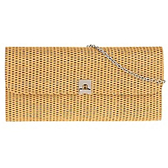 Parfois - Beige 'Arch' clutch bag