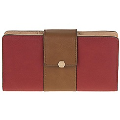 Parfois - Red 'That's all' wallet
