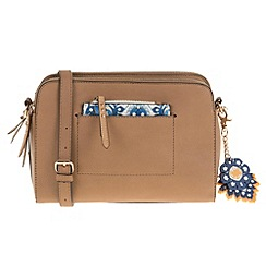 Parfois - Beige 'Tunis' cross bag