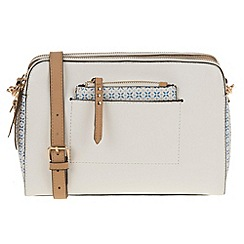 Parfois - White 'Tunis' cross bag