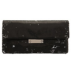 Parfois - Black 'Jail' clutch