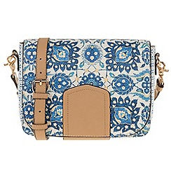 Parfois - Blue 'Tunis' cross bag