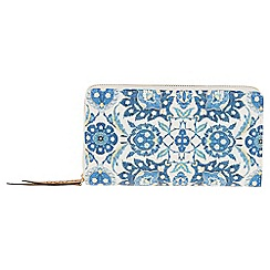 Parfois - Blue 'Tunis' wallet