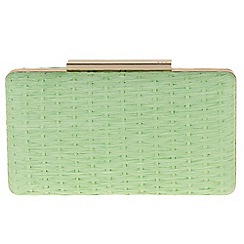 Parfois - Green doll clutch
