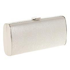 Parfois - Silver 'Palito' clutch