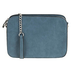 Parfois - Blue 'Eve' cross bag