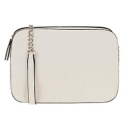Parfois - Beige 'Eve' cross bag