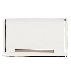 Parfois - White 'Puf' cross bag