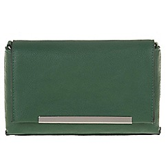 Parfois - Green 'Puf' cross bag