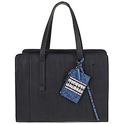 Parfois - Reptil plain briefcase