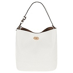 Parfois - White lady lock shopper