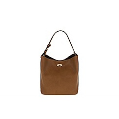 Parfois - Hand bag basic shopper camel