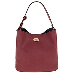 Parfois - Hand bag basic shopper marsala