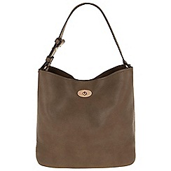 Parfois - Hand bag basic shopper taupe