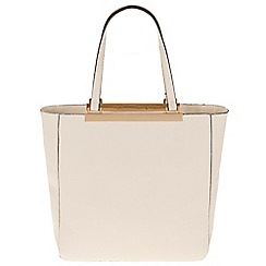 Parfois - Light cream 'Bar' cross bag