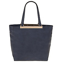 Parfois - Navy 'Bar' cross bag