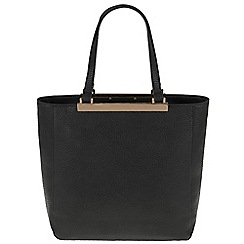 Parfois - Black 'Bar' cross bag