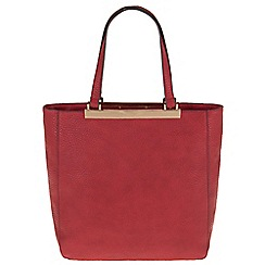 Parfois - Red 'Bar' cross bag