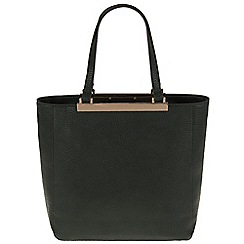 Parfois - Green 'Bar' cross bag