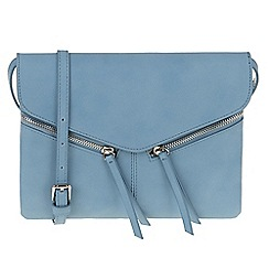 Parfois - Blue 'Ginger' cross bag