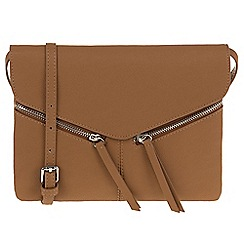 Parfois - Camel 'Ginger' cross bag