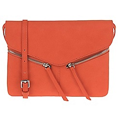 Parfois - Orange 'Ginger' cross bag