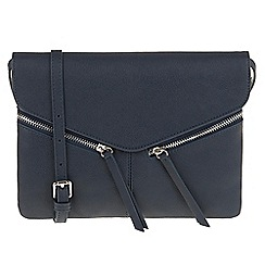 Parfois - Navy 'Ginger' cross bag
