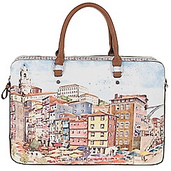 Parfois - Red 'Ribeira' briefcase