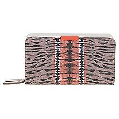 Parfois - Reptil beige wallet