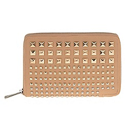 Parfois - Pale yellow studs wallet