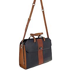Parfois - Hand bag briefcases false navy